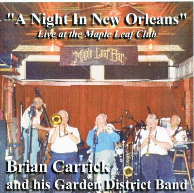 Blue Dixie BDCD-002 BRIAN CARRICK''S GARDEN DISTRICT BAND